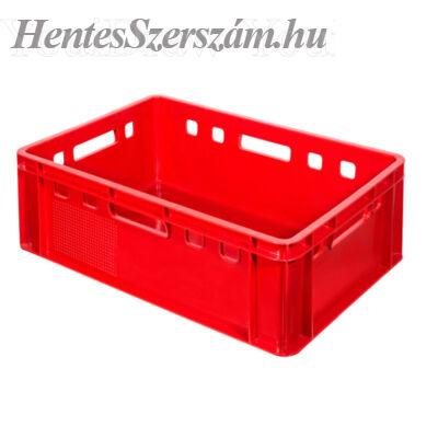 Húsipari láda 35 literes piros
